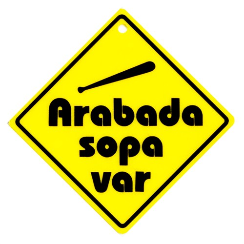 "Z tech "" ARABADA SOPA VAR "" Pleksi Sticker"