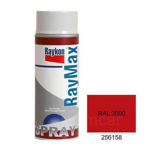Raymax Parlak Ateş Kırmızı (Ral 3000) Akrilik Sprey Boya 400 Ml. 04256158