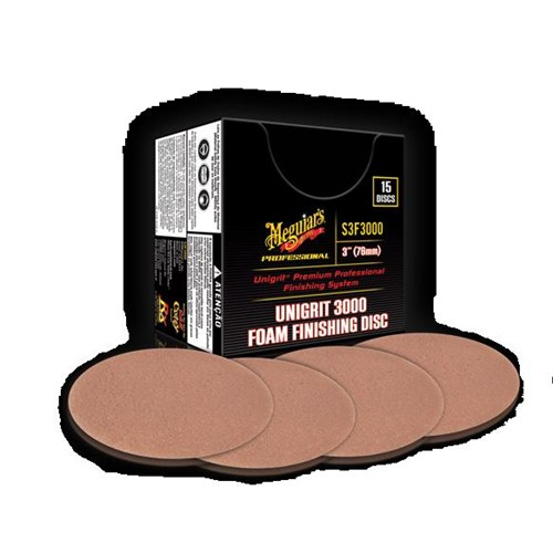 Meguiars Unigrit Finishing Disc Cila Zımparası 3000