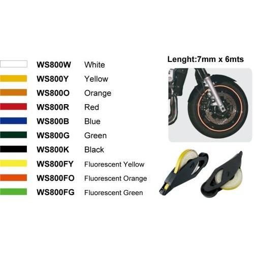 Keiti Ws800y Jant Reflektörü Sarı