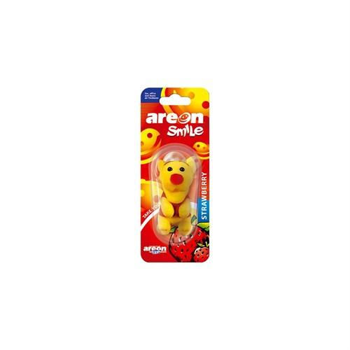 Areon Smile Peluş Figürlü Koku Strawberry 104294