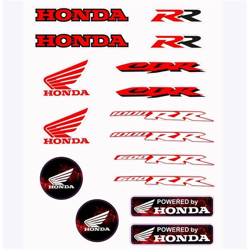 Tex Txhs 01 Xrace Honda Silikon Stiker Seti
