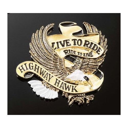Hıghway Hawk 01-560 Amblem Lıve To Rıde Küçük