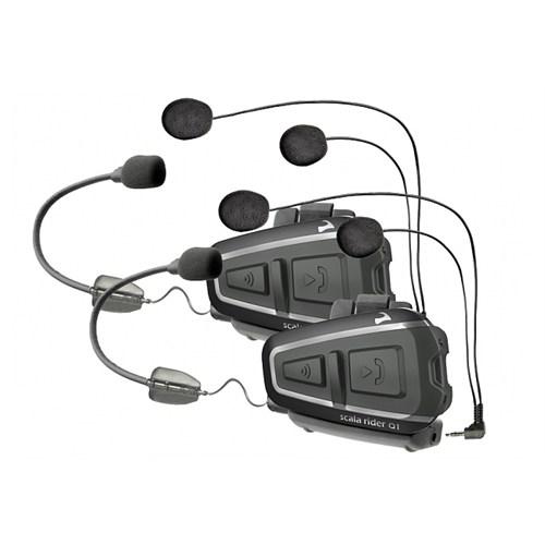 Scala Rıder Q1 Teamset Bluetooth Ve Intercom (Ikılı Paket)