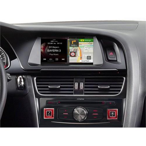 Alpine Audı A4 Ve A5'e Özel 7 İnç Ekranlı Navigasyon Cihazı