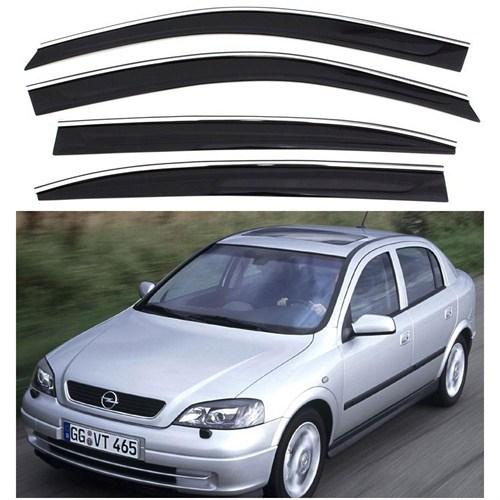 Sportline Nikelaj Hatlı Opel Astra G Kasa 1998-20003 4 Kapı Rüzgarlık Seti 104324
