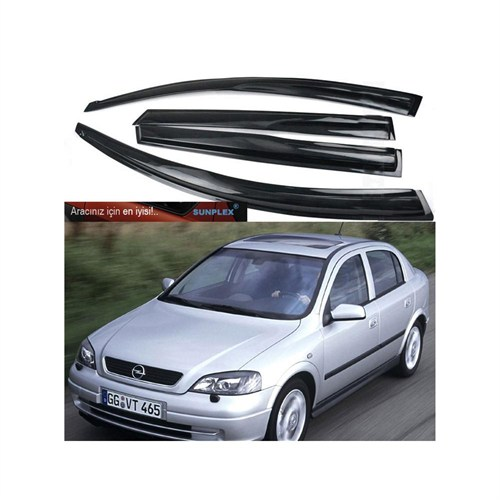 Sunplex Mugen Opel Astra G Kasa 1998-20003 4 Kapı Rüzgarlık Seti 104322