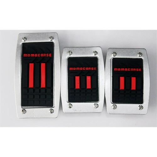 Schwer Momocorse Manuel Pedal Seti (Siyah-Kırmızı Yazılı) 9572
