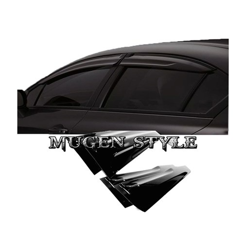 Carat Honda Civic 2012-2013 Mugen 4'Lü Cam Rüzgarlık