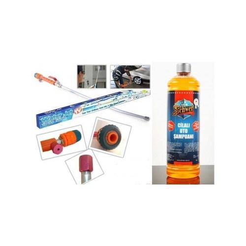 Water Jet Ve Schwer Konsantire Cilalı Oto Şampuanı