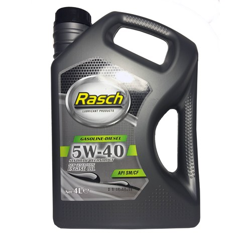 Rasch 5W/40 4 Litre Motor Yagı