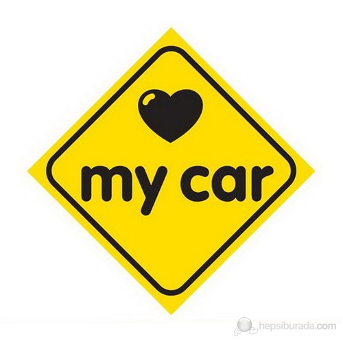 Dreamcar Vantuzlu Amblem ''Love My Car'' 3300706