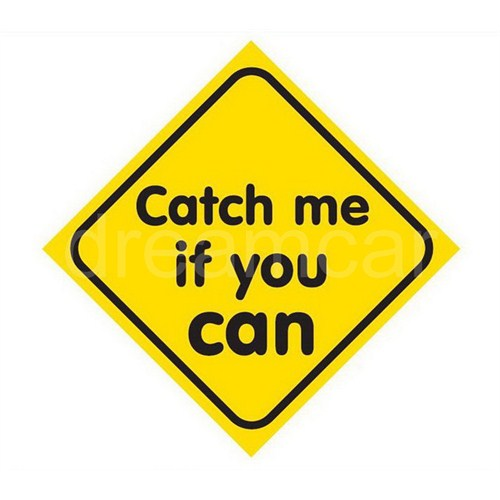 Dreamcar Vantuzlu Amblem ''Catch Me If You Can'' 3300711
