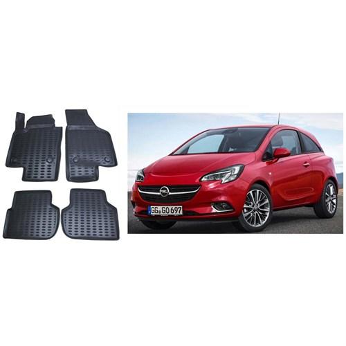 Modacar Exclusive Opel Corsa E Kasa 3D Havuzlu Paspas 104331