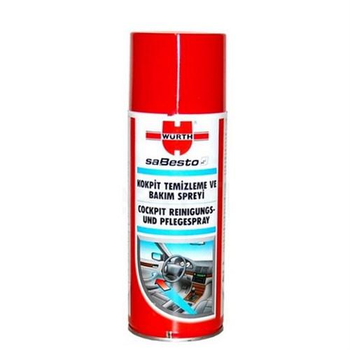 Würth Kokpit Temizleme Ve Bakım Spreyi 400 Ml. Made in Germany