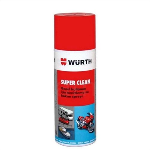 Würth Super Clean Genel Temizleme Spreyi 400 Ml. Made in EU