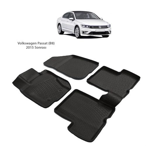Volkswagen Passat B8 (2015 Ve Sonrası) 3D Paspas