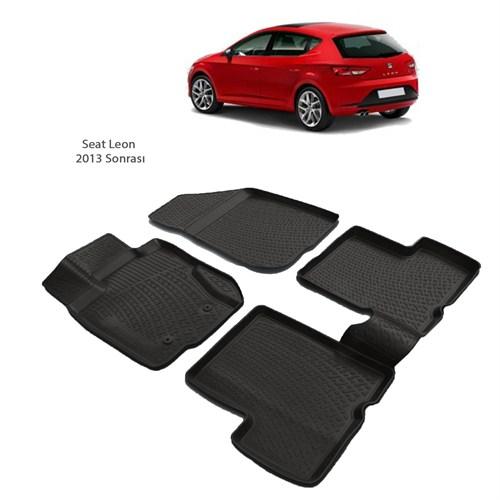 Seat Leon (2013 Ve Sonrası) 3D Paspas