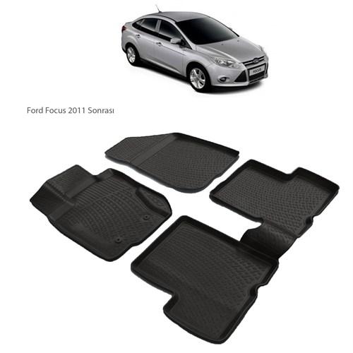 Ford Focus (2011 Ve Sonrası) 3D Paspas