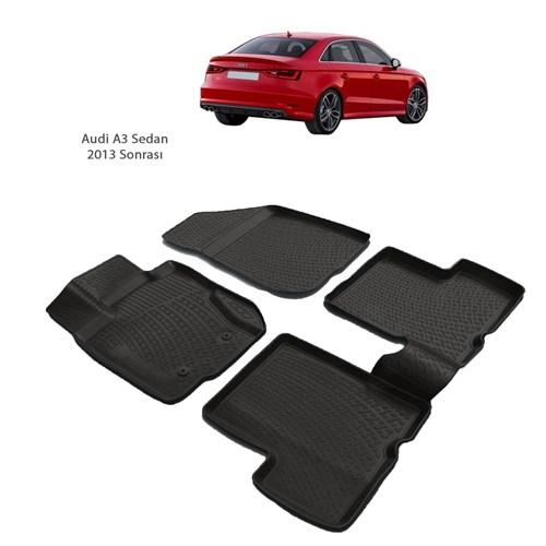 Audi A3 Sedan (2013 Ve Sonrası) 3D Paspas
