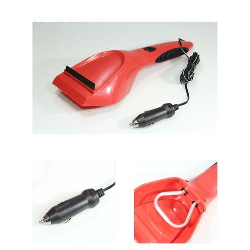 Biart Buz Kazıyıcısı Kırmızı Elektrikli 12V