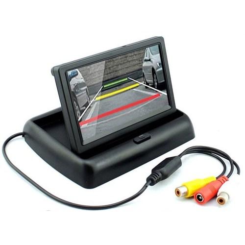 Opax M-3005 Renkli Tft Lcd Katlanabilir Araç Monitörü 4.3 İnch