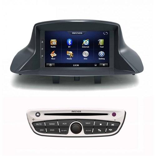 Necvox Dvn -P 1044 Renault Fluence New Platinum Navigasyonlu Multimedya Kamera Dvd Mp3 Tv Anteni Geri Görüş Kamerası