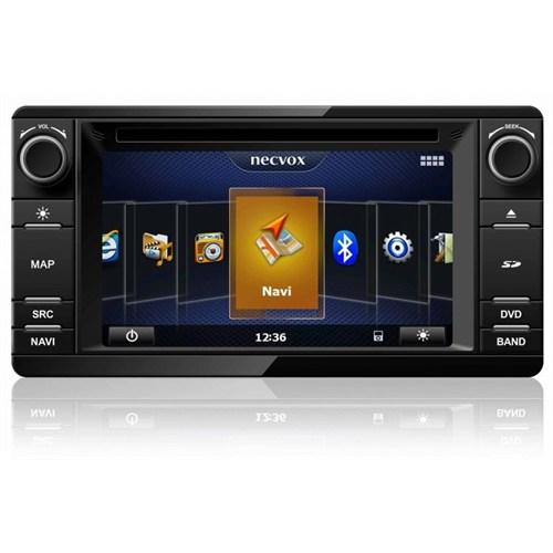 Necvox Dvn -P 1089 Mitsubishi New L 200 4X4 Platinum Navigasyonlu Multimedya Kamera Dvd Mp3 Tv Anteni Geri Görüş Kamerası
