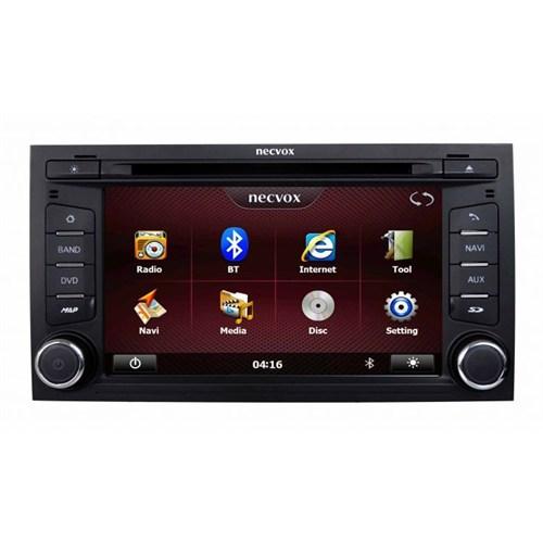 Necvox Dvn -P 1093 Seat Leon New Platinum Navigasyonlu Multimedya Kamera Dvd Mp3 Tv Anteni Geri Görüş Kamerası