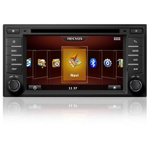 Necvox Dvn -P 1107 Nissan New Micra Note Juke Platinum Navigasyonlu Multimedya Kamera Dvd Mp3 Tv Anteni Geri Görüş Kamerası