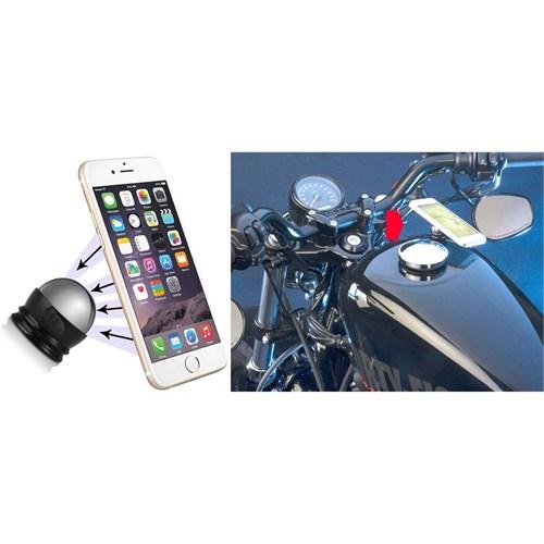 Modacar Silver Motorsiklet Mıknatıslı Telefon Tutucu 104464