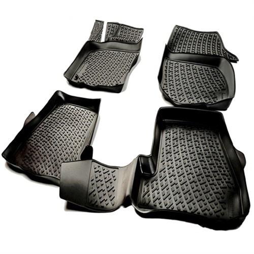L.Locker Honda Civic Sedan 2012 Sonrası 3D Havuzlu Paspas