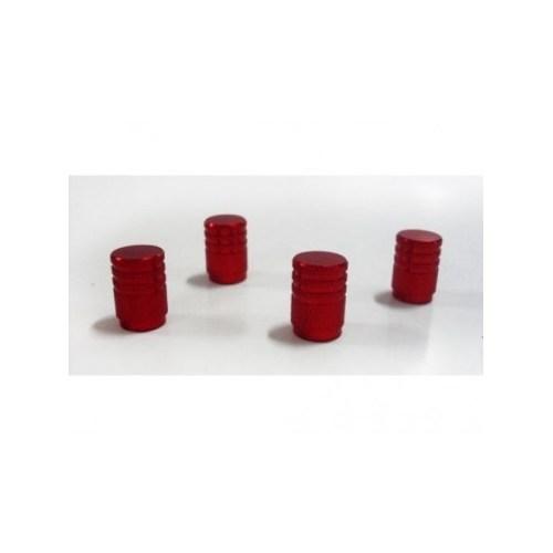 SCHWER Metalik Kırmızı Sibop Kapağı