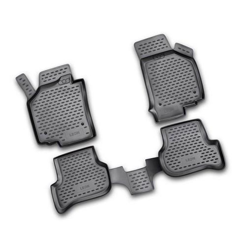 Bod Seat Leon 3D Havuzlu Paspas 2007-2015