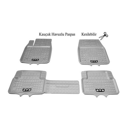 Bod Chevrolet Aveo Lacetti Havuzlu Paspas Gri 2004-2015