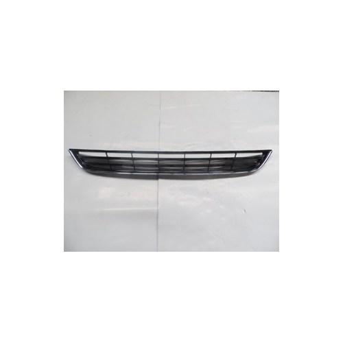 Ford Fıesta- 13/16 Ön Tampon Panjuru Siyah (Nikelaj Çerçeveli)