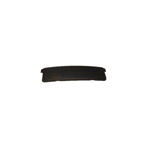 Bmw 3 Serı- E46- 02/05 Ön Tampon Plakalık Plastiği Siyah