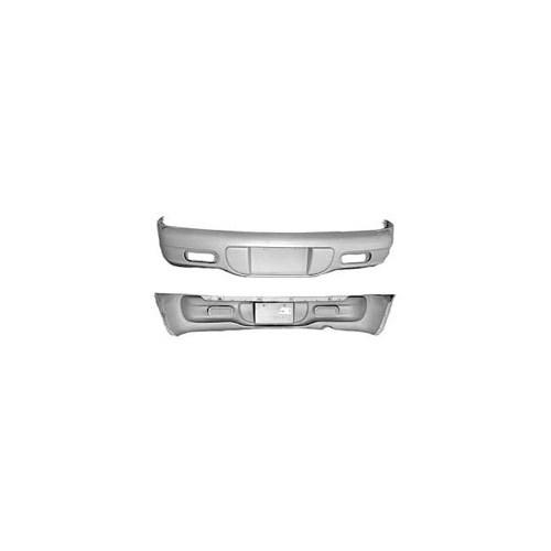 Chrysler Pt- Cruıser- 01/05 Arka Tampon Parça Astarlı Siyah