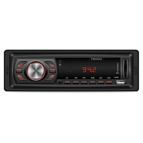 Piranha Ixenit X Type Radyolu USB / SD Kart Girişli Oto MP3 Çalar