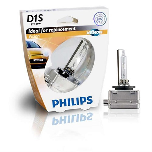 Philips D1s Vision 4600K 85V 35W Ampul Made İn Germany