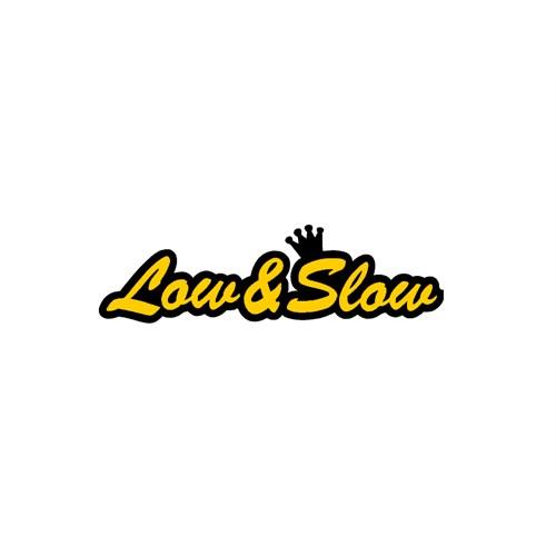 """Z tech """" Low&Slow """" Sarı Siyah Sticker 19x5cm"""