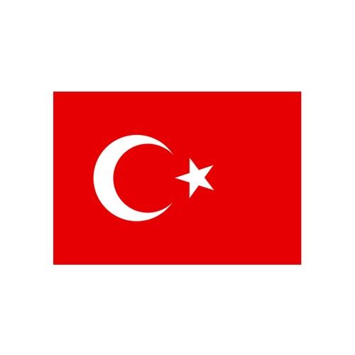 "Z tech "" TR Bayrak Resmi "" 10 x 6 cm"