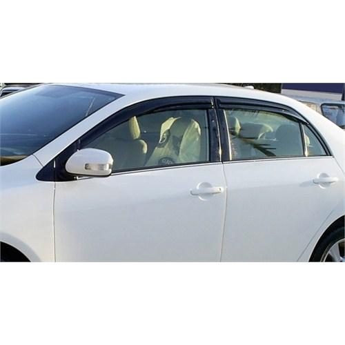Toyota Corolla 2007 sonrası MUGEN tip Ön/Arka Set Cam rüzgarlığı