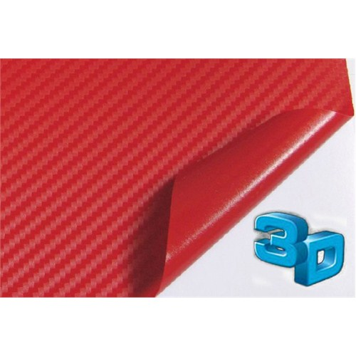 Elgard Kırmızı Carbon Folyo (200x127 cm)