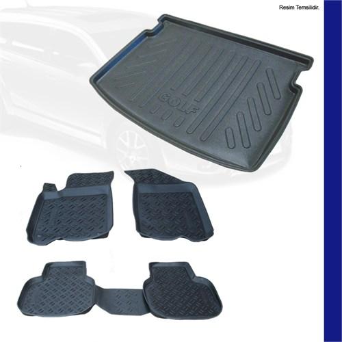 Nissan Micra 3D Paspas Ve Bagaj Havuzu Seti 2004-2010