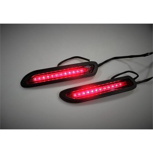 Space Ledli Sinyal Lambası (Kırmızı)