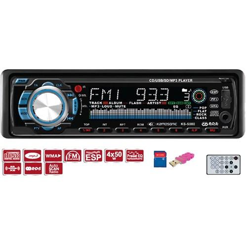 Kamosonic KS-5080 CD-SD MMC-USB-ESP-MP3 Çalar