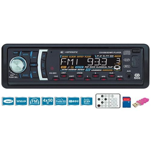 Kamosonic KS-5091 CD-SD MMC-USB-ESP-MP3 Çalar