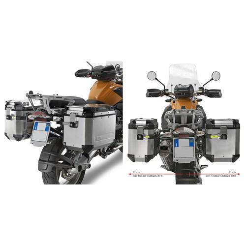 Gıvı Pl684cam Bmw R 1200Gs - Adventure (04-13) Yan Çanta Tasıyıcı