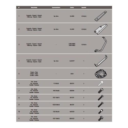 Gıvı Sr3105m Suzukı Dl 1000 V-Strom (14-15) Arka Çanta Tasıyıcı